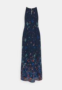 Esprit Collection - PRINT FLOWER - Maxi dress - navy - 4