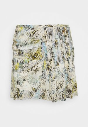 KARINA - Mini skirt - multicolor