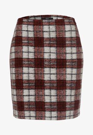 Mini skirt - tandori red