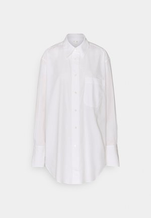 Shirt - Button-down blouse - white