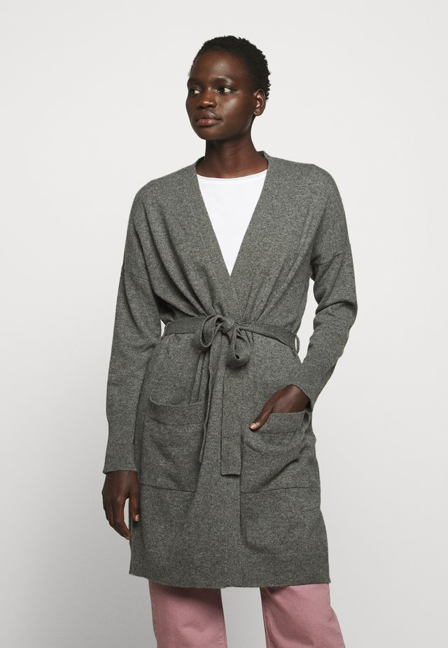 THE DUSTER CARDIGAN - Gilet - grey