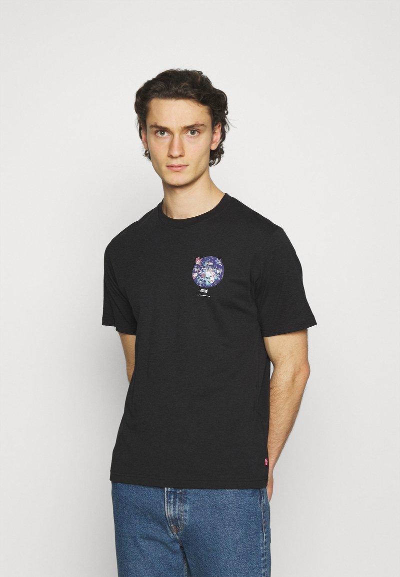 Levi's® - TEE UNISEX - Print T-shirt - caviar