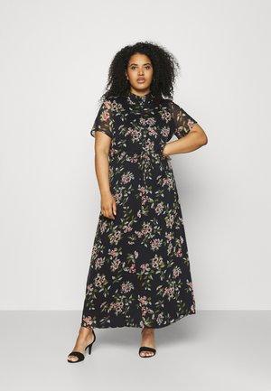 VMKAY ANKLE SHIRT DRESS CURVE - Maxi šaty - navy blazer