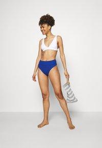 aerie - HI CUT CHEEKY WAFFLE - Bas de bikini - jeweled blue - 1