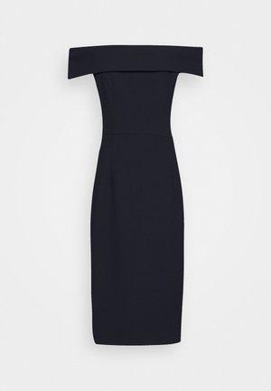 CARMEN DRESS - Shift dress - navy blue