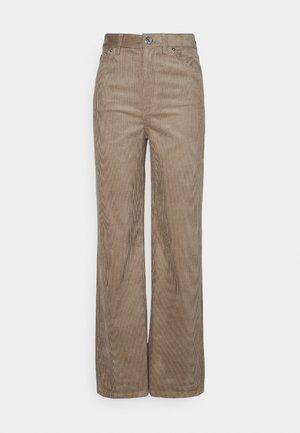 YOKO TROUSERS - Spodnie materiałowe - beige mole