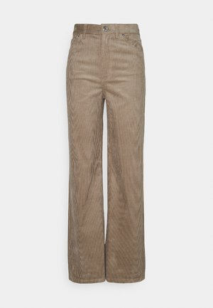 YOKO TROUSERS - Pantalones - beige mole