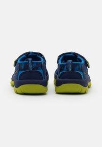 Keen - NEWPORT H2 UNISEX - Walking sandals - blue depths/chartreuse - 2