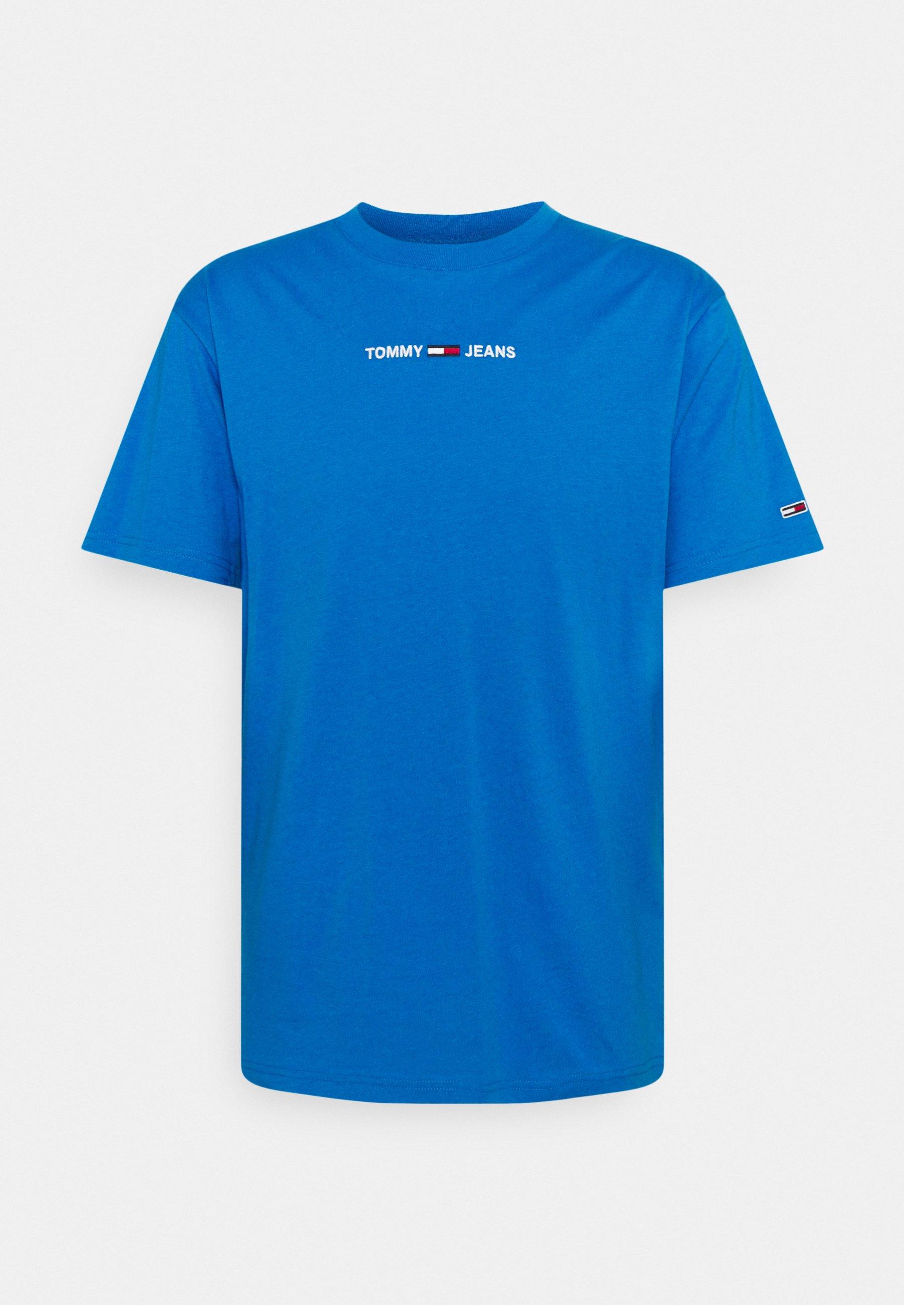 Men SMALL TEXT TEE - Basic T-shirt