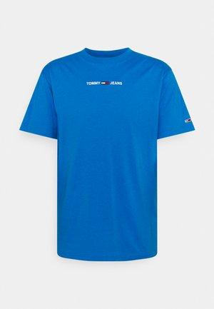 SMALL TEXT TEE - T-shirt z nadrukiem - liberty blue