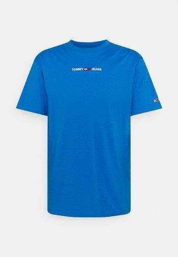 SMALL TEXT TEE - T-paita - liberty blue