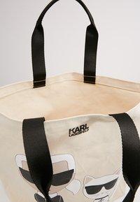 KARL LAGERFELD - IKONIK  - Shopping Bag - white - 5