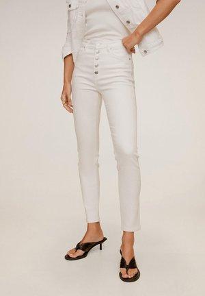 NOA - Jeansy Skinny Fit - bianco