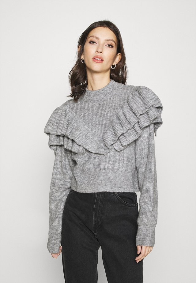 ESTHER  - Neule - grey melange