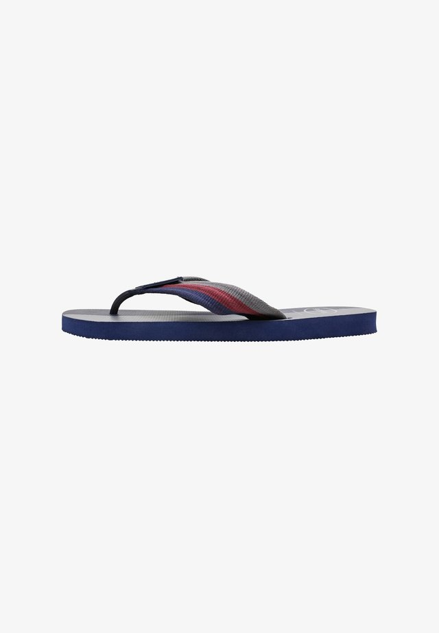 URBAN COLOR BLOCK - Pool shoes - navy blue