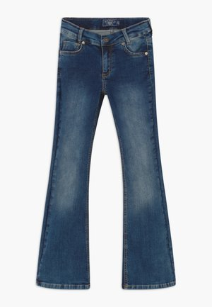 GIRLS FLARED - Bootcut jeans - medium blue