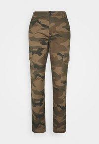 JDY - JDYARMY STRAIGHT PANT - Cargo trousers - kalamata - 4