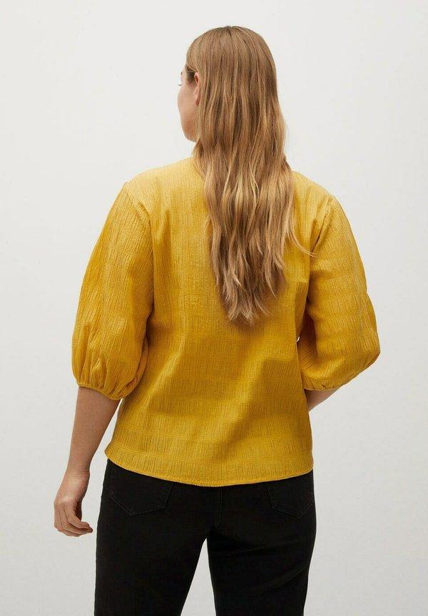 Violeta by Mango Bluzka - jaune/żÓłty WRRS