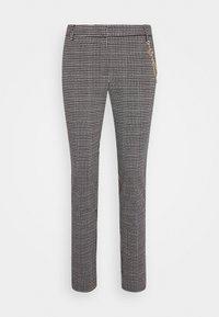 LIU JO - PANTALONE CIGARET - Pantalon classique - black/white - 0