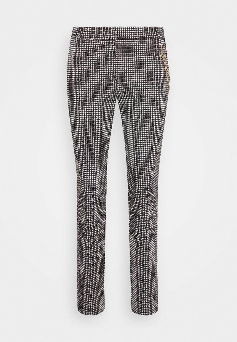 LIU JO - PANTALONE CIGARET - Pantalon classique - black/white