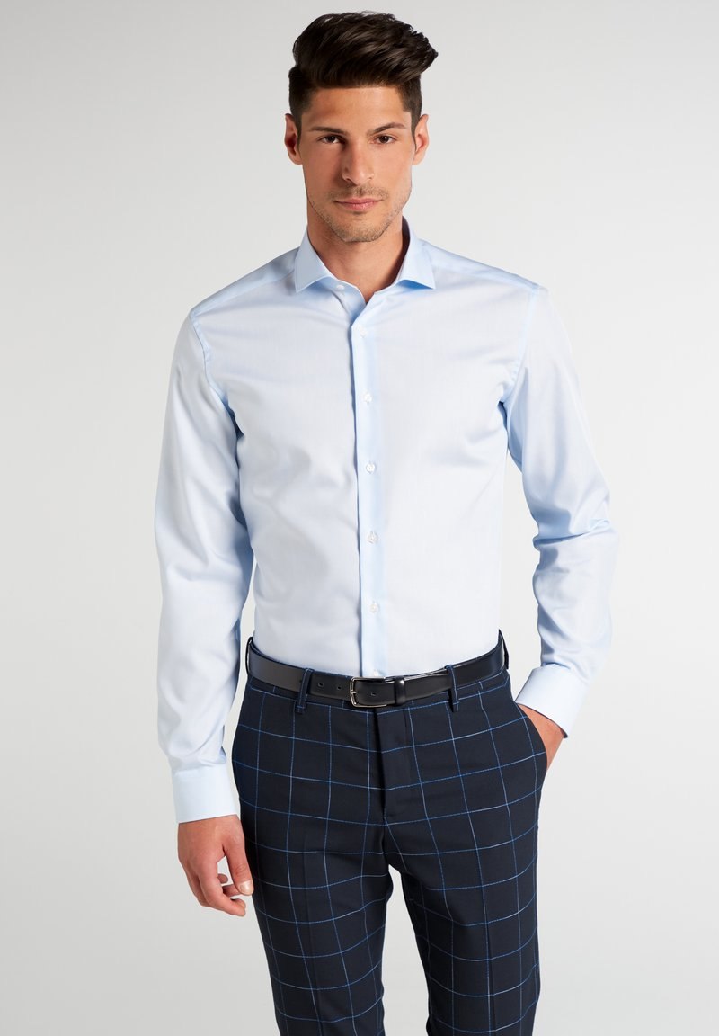 Eterna - SLIM FIT - Formal shirt - blau