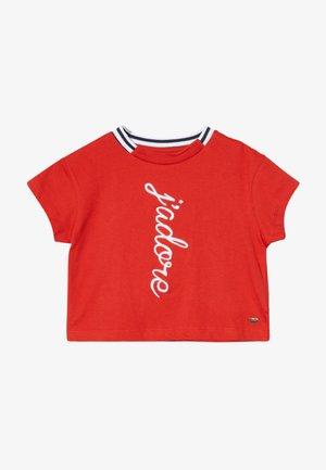 ALEXANDRIA - Print T-shirt - red