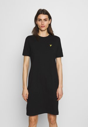 DRESS - Jerseyjurk - jet black
