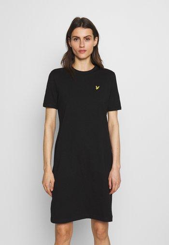 DRESS - Jerseykjole - jet black