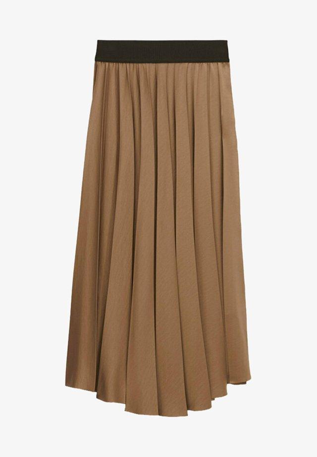 Spódnica trapezowa - beige