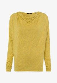 zero - Long sleeved top - light mustard melange - 4