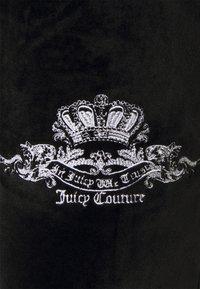 Juicy Couture - ANNIVERSARY CREST TRACK PANTS - Trainingsbroek - black - 9