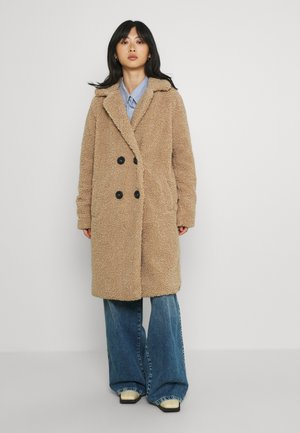 NMGABI LONG JACKET - Winter coat - camel