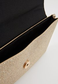 Dorothy Perkins - BAR GLITTER - Clutch - gold - 4