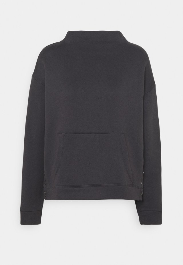 BRONX TURTLENECK - Sweater - black coal