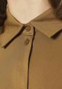 Vila - VIDANIA BELT DRESS - Shirt dress - butternut - 5