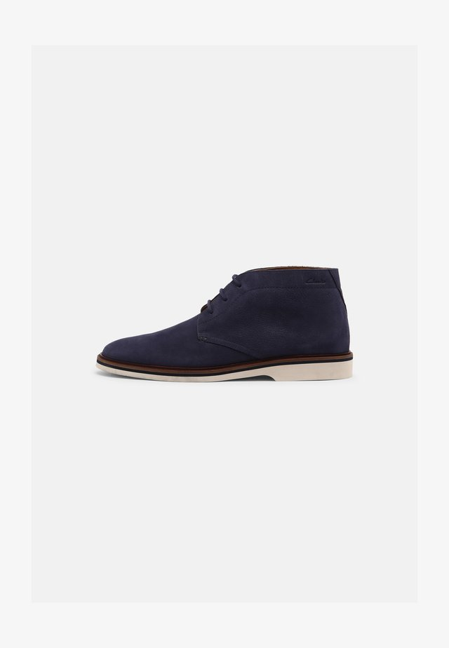 MALWOOD MID - Casual lace-ups - navy