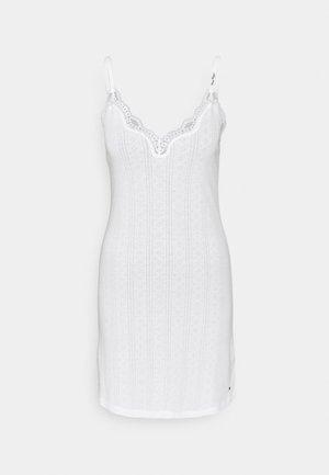 STRAPPY DRESS - Yöpaita - white
