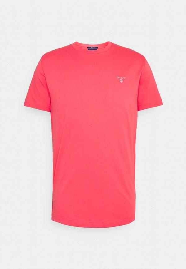 GANT THE ORIGINAL - T-shirt basic - paradise pink/jasnoczerwony Odzież Męska GWZI