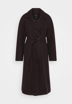 VMMERLEMAY LONG PETITE - Zimní kabát - chocolate plum