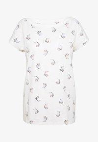 Esprit - CORE - T-shirt z nadrukiem - off white - 0