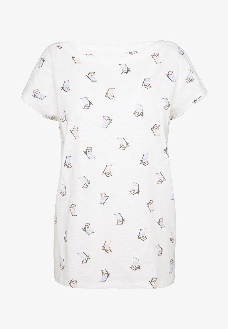 Esprit - CORE - T-shirt z nadrukiem - off white