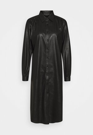 ASIA DRESS - Shirt dress - black