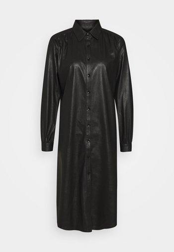 ASIA DRESS - Shirt dress - black