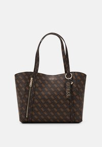 Guess - NAYA TOTE - Tote bag - brown - 0