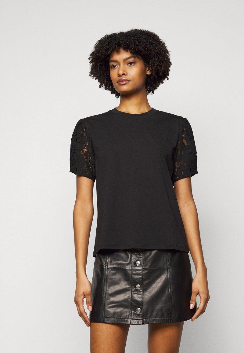 The Kooples - Print T-shirt - black