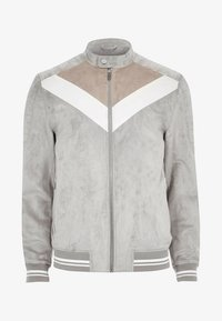 River Island - Faux leather jacket - grey - 4