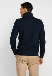 TOM TAILOR - STRUCTURED JACKET WITH DETAILS - Zip-up hoodie - sky captain blue - 2