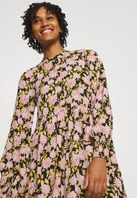 JDY - JDYCARMEN SHORT DRESS - Košilové šaty - black - 3