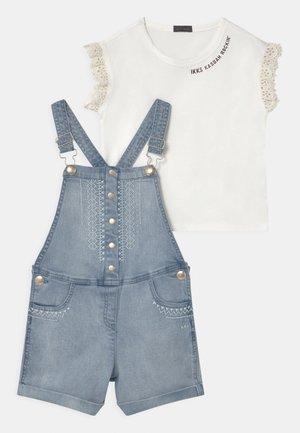 KOMBI SET - T-shirt imprimé - light blue
