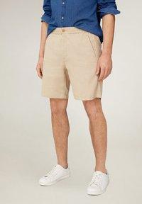 Mango - FLEK - Shorts - beige - 0